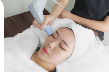 Aesthetic skin tightening treatment