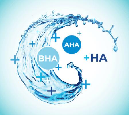 All About AHA, BHA and HA's Skin-loving Benefits