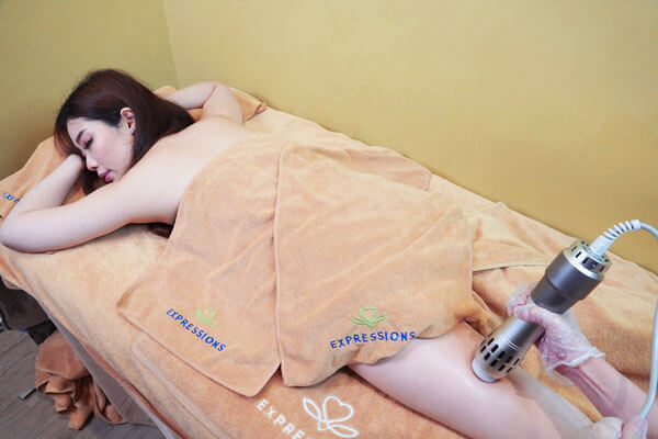 Expressions anti-cellulite Shockwave treatment